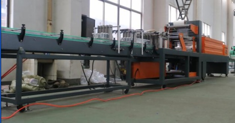 PE Film Shrinking Wrapping Machine