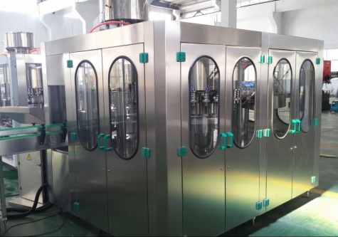 Washing,Filling,Capping 3-IN-1 Monobloc