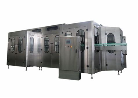 Sterilizing,Washing,Filling,Capping 4-IN-1 Monobloc